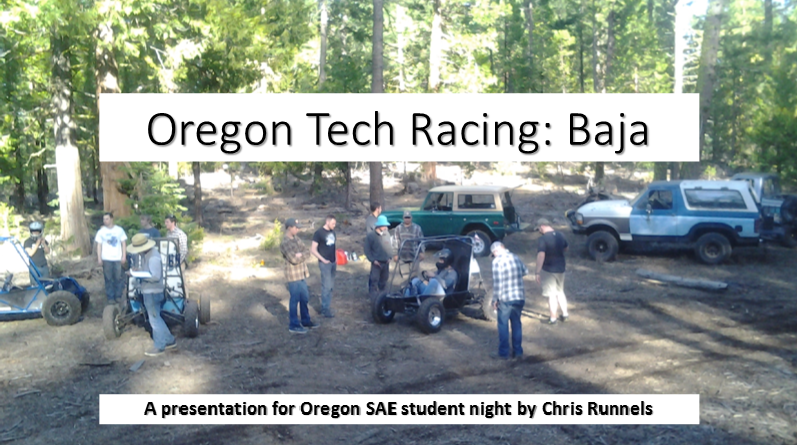 OIT - 2017 Oregon SAE Student Night
